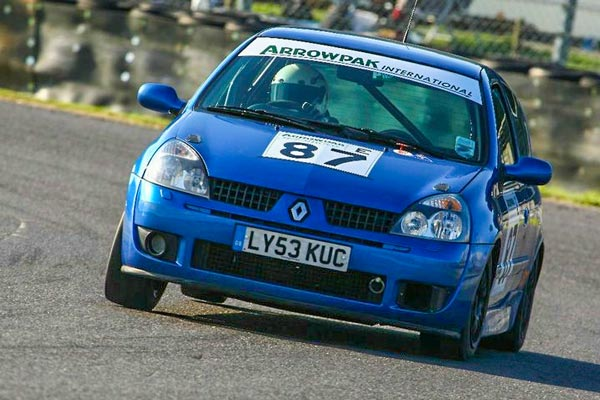 Renault Clio 172 Cup car for hire