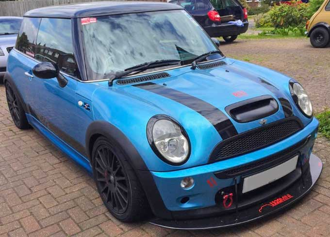 Mini R53 strack day car