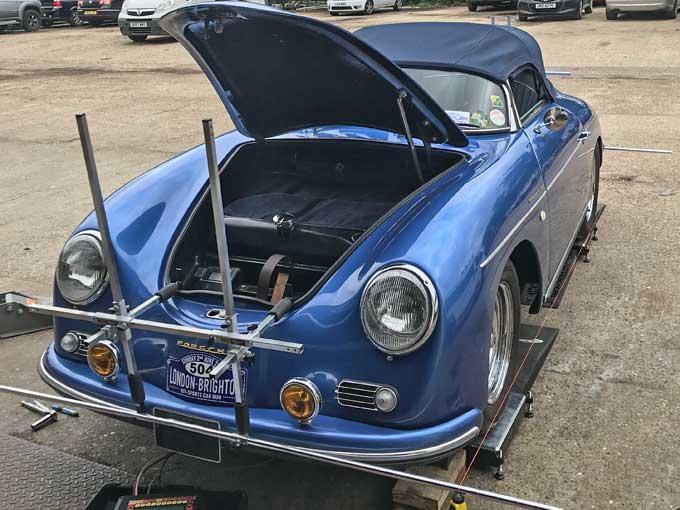 Porsche Roadster suspension set up